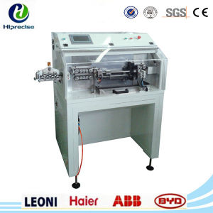 Wire Coaxial Cable Cutting Stripping Machine