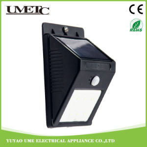 Factory Direct OEM Solar Powered Garden Sensor Solar Wall Light pictures & photos
