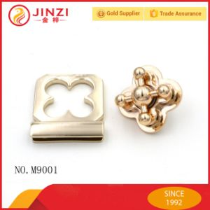 Luxury Design Zinc Alloy Zip Twist Bag Lock pictures & photos