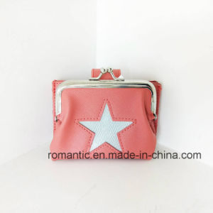 Leisure Lady PU Card Wallet Women Leather Coin Purse (NMDK-040802) pictures & photos