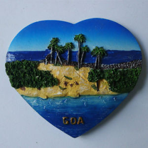 Good Quality Cup Shaped Resin Indian Fridge Magnet for Deco pictures & photos