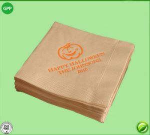 Fully Automatism Double Row Embossing Napkin Paper Folding Machine pictures & photos