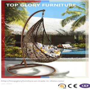 Outdoor Basket Rattan Swing Hanging Swing Balcony (TGDL-049) pictures & photos