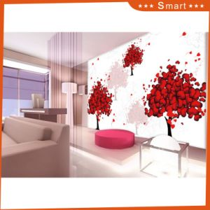 a Tree Full of Red Hearts Pattern Design for Home Decoration Oil Painting pictures & photos