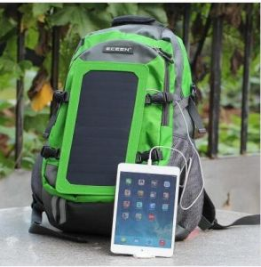 New 2016 Fashion Solar Bag Charging Type Outdoor Solar Backpack (SB-179) pictures & photos