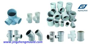 Plastic Fittings Mold for PVC 110mm Pipes pictures & photos