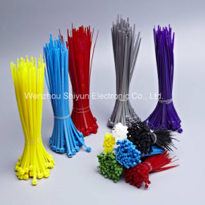17 3/4′′ 120lbs Natural/UV Black Nylon Cable Ties pictures & photos