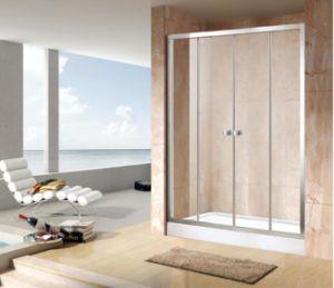 Shower Enclosure Economy 4/5mm Double Sliding Door Bathroom (EC-DSL16) pictures & photos