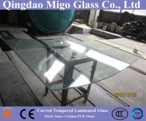 12mm Clear Tempered Laminated Glass for Building Curtain Wall pictures & photos