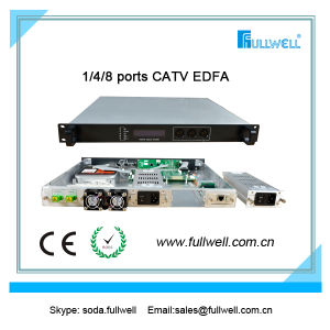 8 Ports CATV 1550nm EDFA with Dual Power, 23 ~ 40dBm (FWA-1550H-8X19) pictures & photos