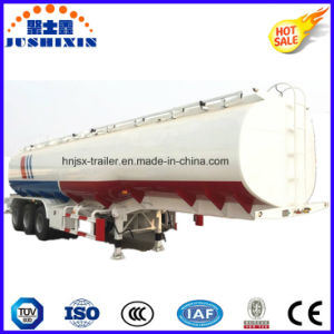 3 Axle 50cbm Carbon Steel Bulk Fuel/Oil/Gasoline/Liquid Utility Tanker Truck Semi Trailer pictures & photos