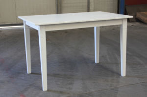 White Color Table Wooden Dining Table (M-X1073) pictures & photos