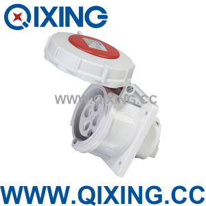 IP67 Flush Mounted Electrical Male Socket for Industry (QX234) pictures & photos
