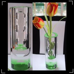 New Fashion Crystal Decorative Flower Vase for Home&Office&Wedding pictures & photos