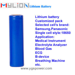 Hight Quality Lithium Battery for Patient Monitor Infusion Pump etc. 11.1V2.9ah