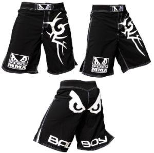 China Manufacture Custom MMA Shorts, Bad Boy MMA Mixed Martial Arts Wholesale