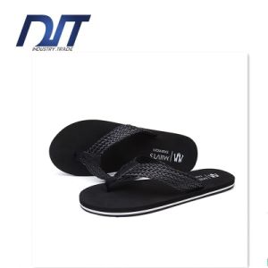 British Summer Men′s Casual Slip Stylish Solid Beach Pinch Slippers pictures & photos