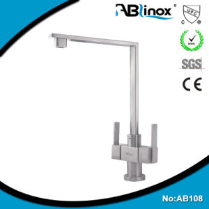 Stainless Steel Kitchen Sink Faucet, Kitchen Faucet (AB108)