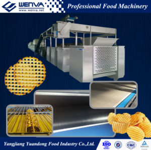 Full Automatic Baked Potato Chip Making Machine pictures & photos