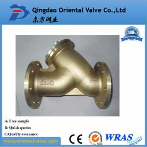 Dn25 Forged Water Brass Flanged Strainer for Water Oil Gas pictures & photos