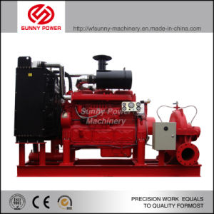 12inch Double Suction Pump Driven by Cummins Diesel Engine pictures & photos