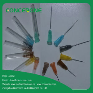 Injection Needle for Disposable Syringe (15G-31G) pictures & photos