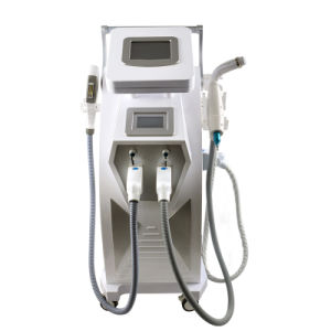 Shr IPL Hair Removal Equipment Shr Hair Removal Machine Pain Free IPL Shr Opt YAG Laser Tattoo Removal RF Wrinkle Removal 3 in 1 pictures & photos