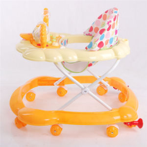 Children Toy Car Factory Wholesale Activity Baby Plastic Walker with Music pictures & photos