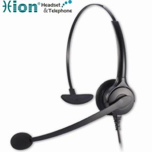 Superior Noise Canceling Call Center Headset Comfortable Design with Qd