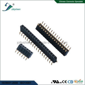 2.54mm Pitch Female Header Single Row Centipede Pin Straight  Type Bottom Entry H8.5mm pictures & photos