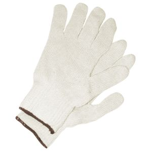 Industrial White Cotton Knitted Working Gloves Safety Products pictures & photos
