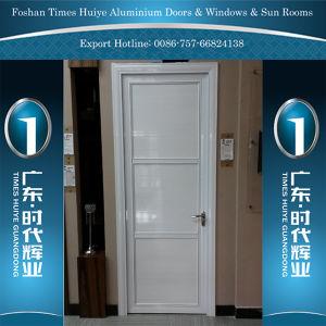 Aluminium Bathroom Door with Full Aluminium Board pictures & photos