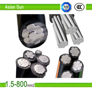 XLPE Insulated Aluminium 0.6/1kv Aerial Bunched Cable for Power Distribution pictures & photos