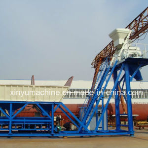 Yhzs50 with Capacity 50m3/H Mobile Concrete Batching Plant pictures & photos