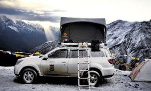 Fiberglass Big Space Folding Car Roof Top Tent pictures & photos