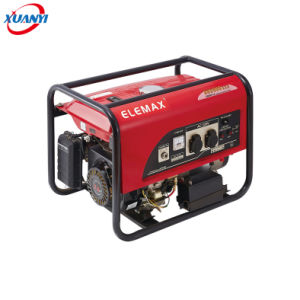 China Electric Start 2.5kVA 7.0HP Gasoline Generator Set 100% Copper Wire Mini Petrol pictures & photos