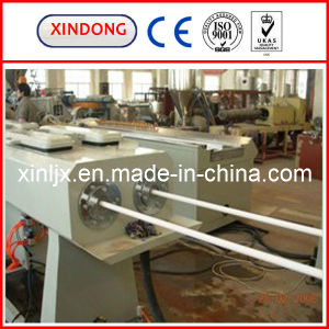 Double Strand PVC Pipe Production Line/Plastic Extruder pictures & photos