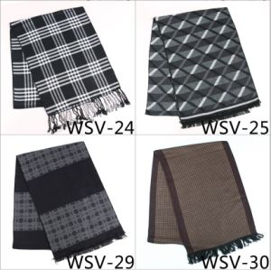 Men′s Fasion Viscose Scarf Wsv-24 pictures & photos