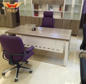 on Sale Modern L Shape Office Table, Office Desk, Office Work Table pictures & photos