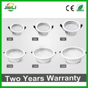 """Good Quality Die-Casting Aluminum White 2.5""""3W LED Downlight pictures & photos"""