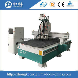 Three Heads Wood CNC Router Machine pictures & photos