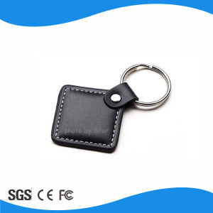 RFID Electronic Key Leather Fob pictures & photos