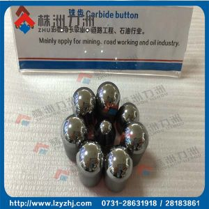 Conical Types Tungsten Carbide Buttons for Oil pictures & photos