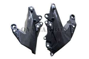 Carbon Fiber Motorcycle Parts Side Panel Lower for Kawasaki ZX6-R 09 pictures & photos