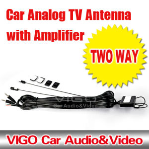 Two Way Auto TV Antenna With Amplifier (VTN352)
