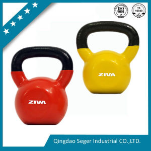 China Wholesale Cheap Cast Iron Vinyl Dipped Kettle Bell/Kettlebell pictures & photos