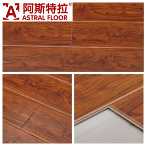 High Gloss Surface (Great U Groove) Laminate Flooring (AK6804) pictures & photos