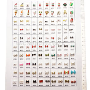 Easy DIY Nail Art Designs Alloy Christmas Decoration Accessories (D68) pictures & photos