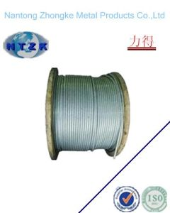 Electro Galvanzied Steel Wire Rope 6*19s+FC, Sale From Nantong China pictures & photos