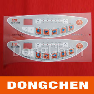 Silk Screen Printing Adhesive Membrane Overlay Panel pictures & photos